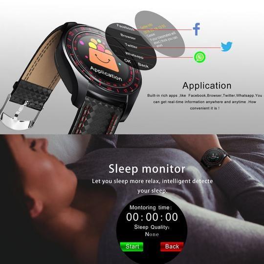 Überwachen Sie Ihre Gesundheit in Echtzeit!  #healty #fitnesstracker #smartwatch #watch #GPSmonitor...
