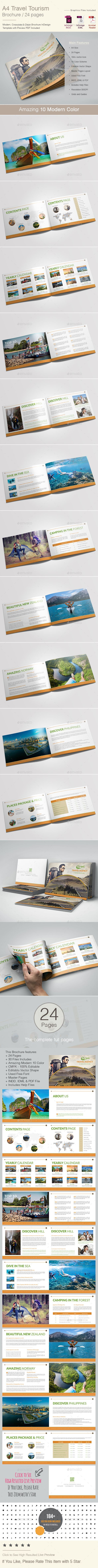 Travel Tourism Brochure Template  Brochure Template Travel