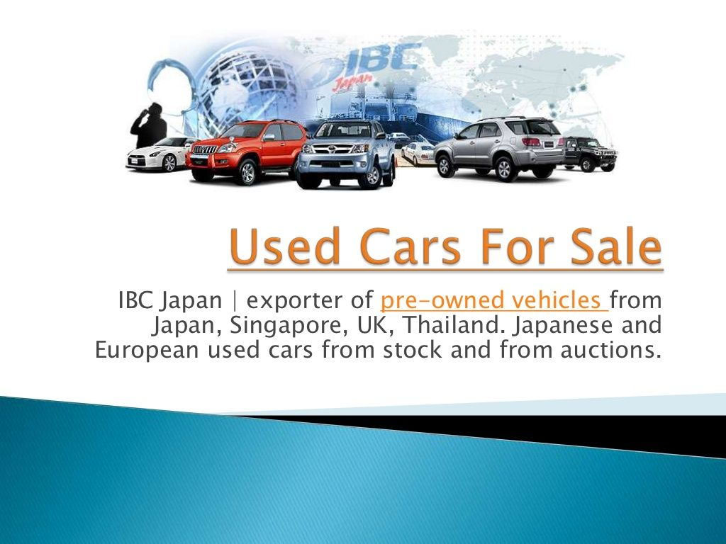 Used cars for sale 15664261 by ibc japan used car via