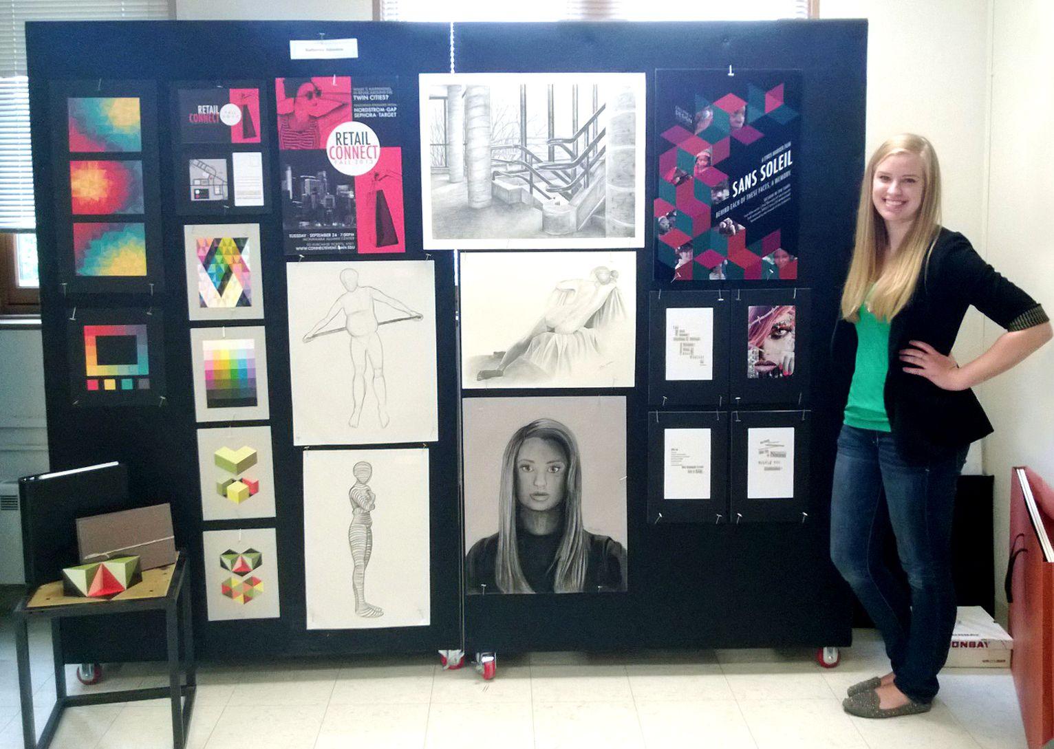 graphic design portfolio exhibition group google search - Graphic Design Project Ideas For Portfolio