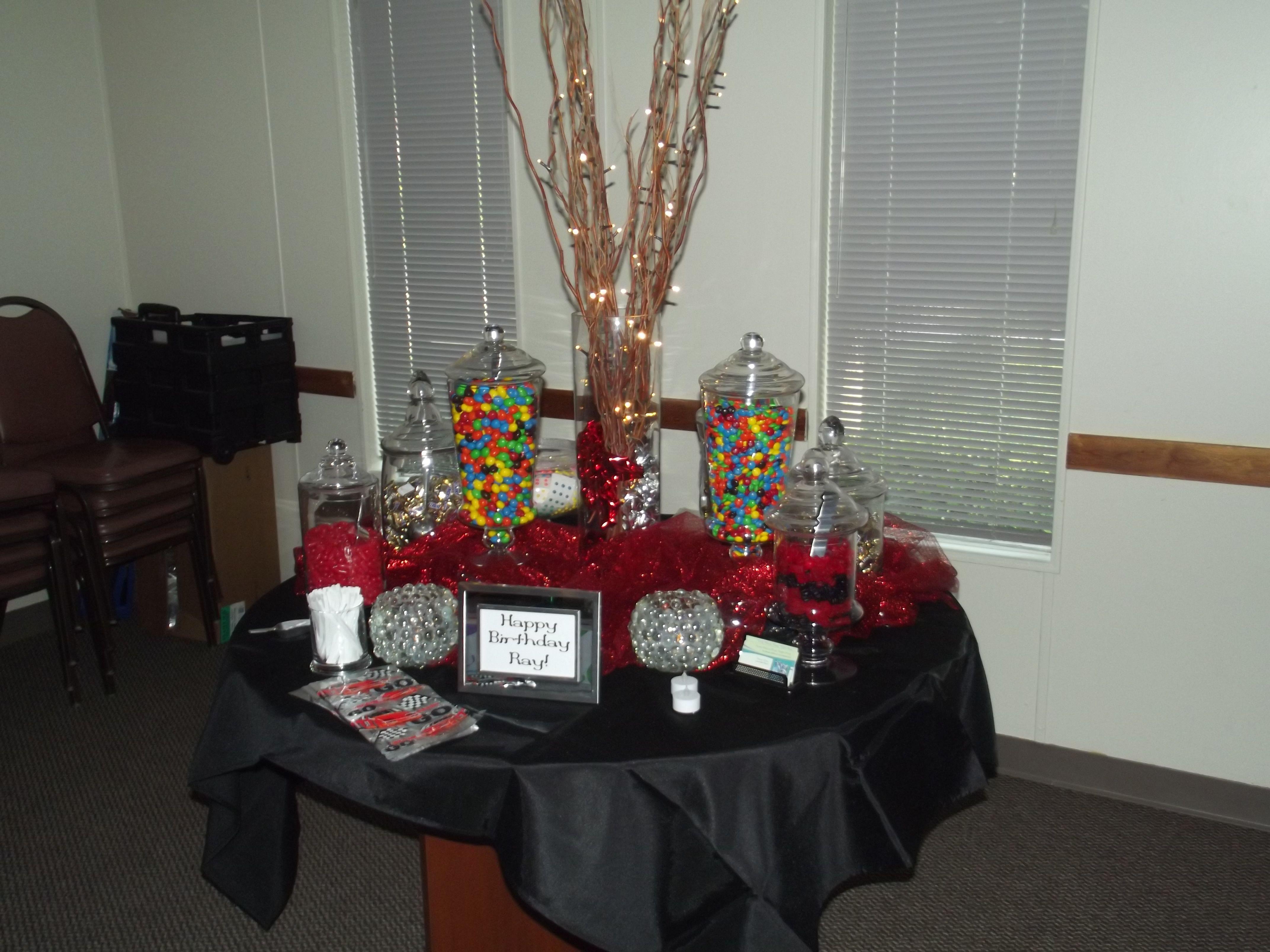 50th Birthday Candy Buffet