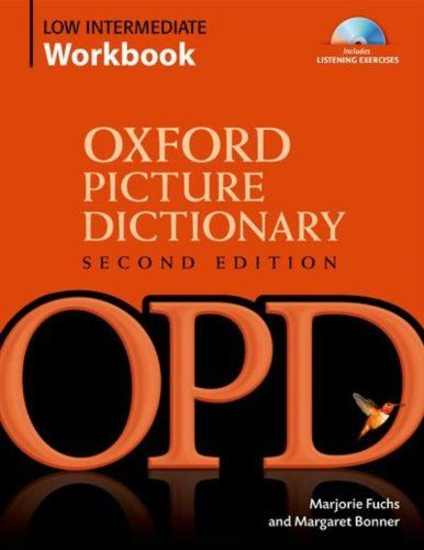 Amazon Fr Oxford Picture Dictionary Second Edition Picture Dictionary Book Activities Workbook