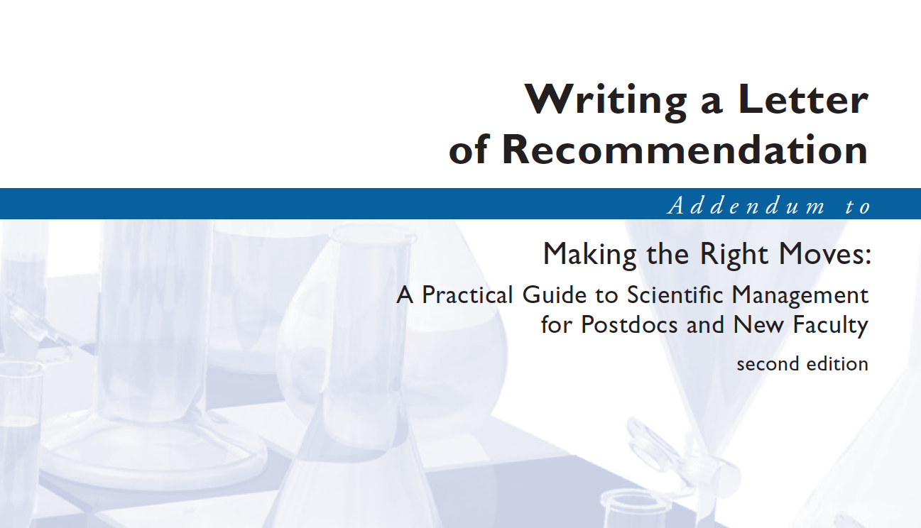 Writing A Letter Of Recommendation  Pg Instructional Packet
