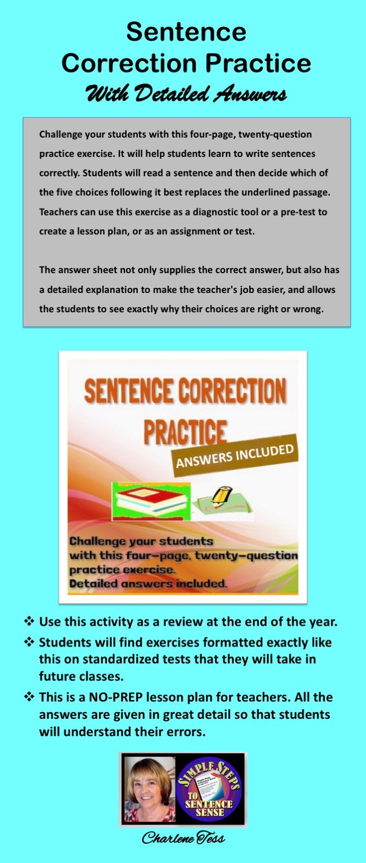 Sentence Correction Practice With Detailed Answers Subject Verb