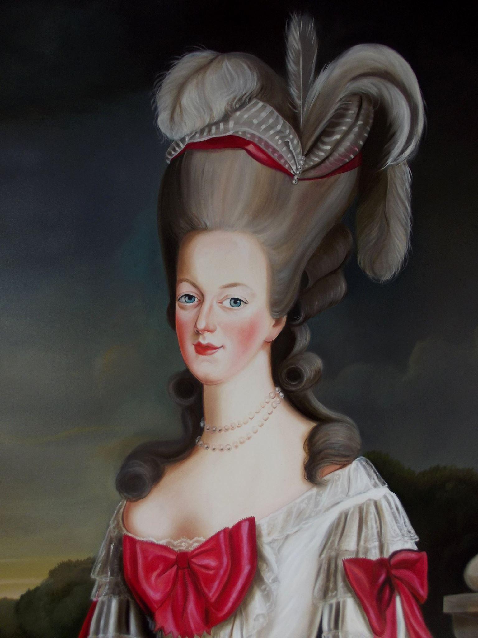 многолюдно картинки французская королева получила образование