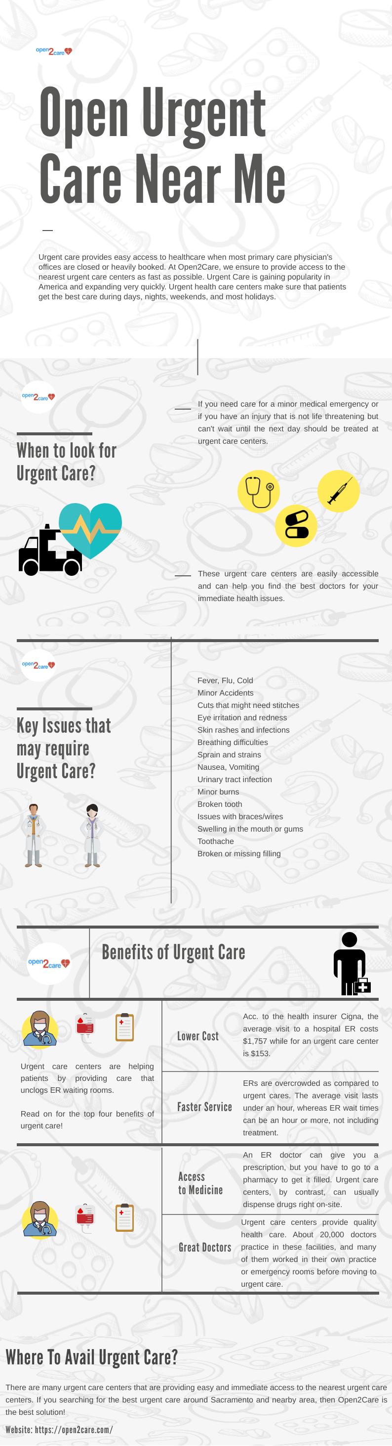Open Urgent Care Near Me Urgent care, Urgent care near