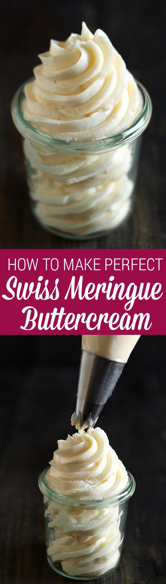 This is now my FAVORITE buttercream ever!! Love that it can be made ahead of time! TONS of flavor ideas here too.