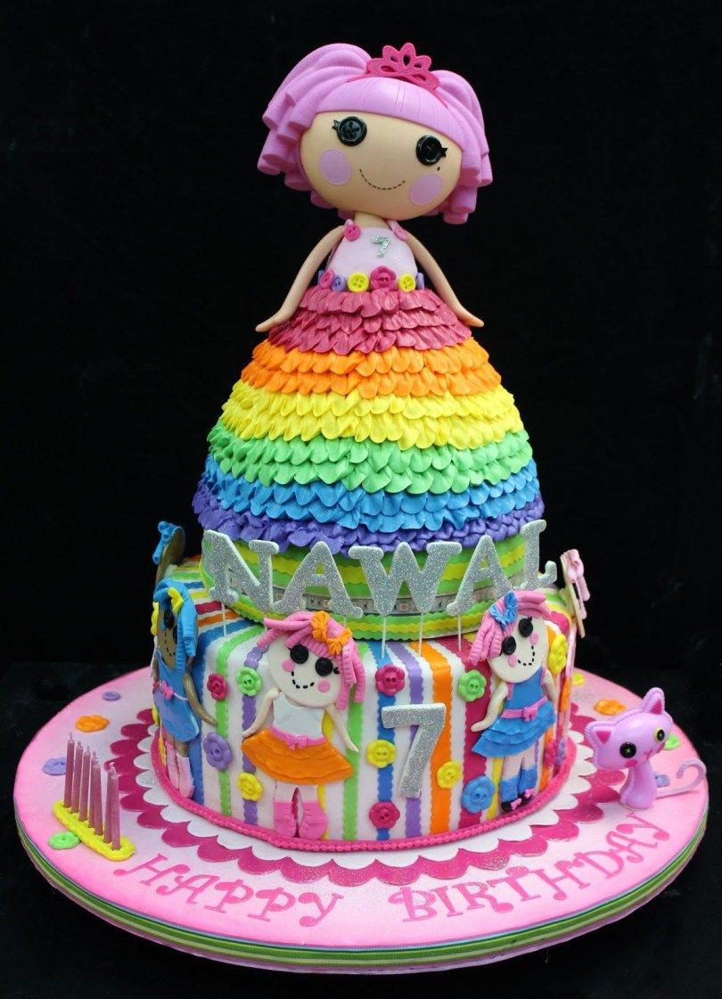Awe Inspiring 30 Amazing Image Of Lalaloopsy Birthday Cake Adult Birthday Personalised Birthday Cards Rectzonderlifede