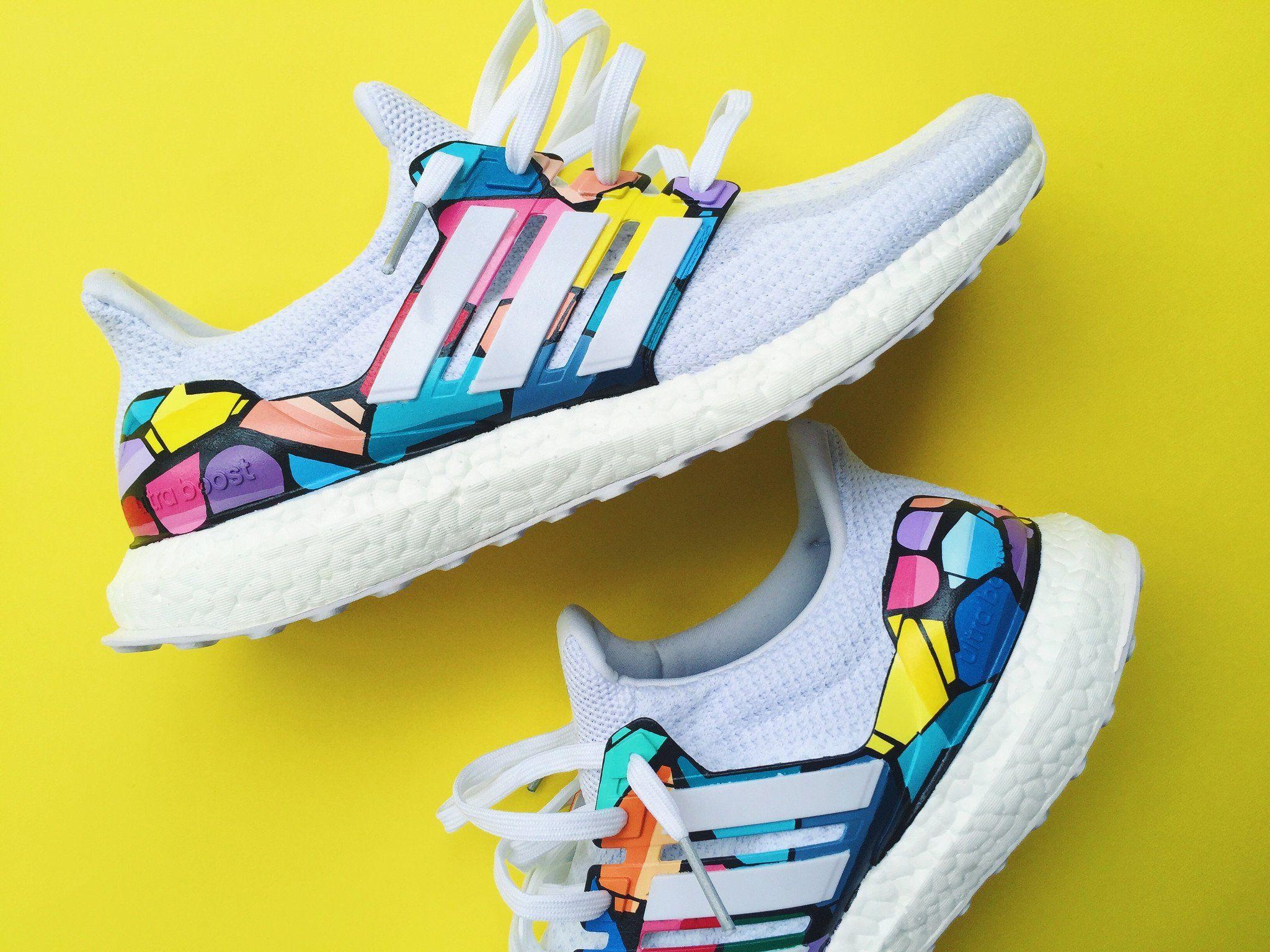 Adidas ultra boost, Custom shoes