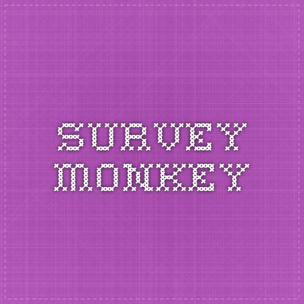 survey monkey User Research Pinterest - feedback survey template