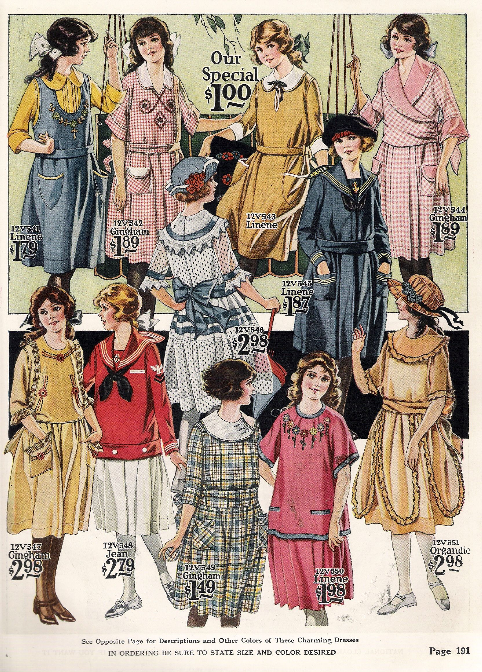 1920s Children s Fashion Part of Our Twenties Fashions Section 96
