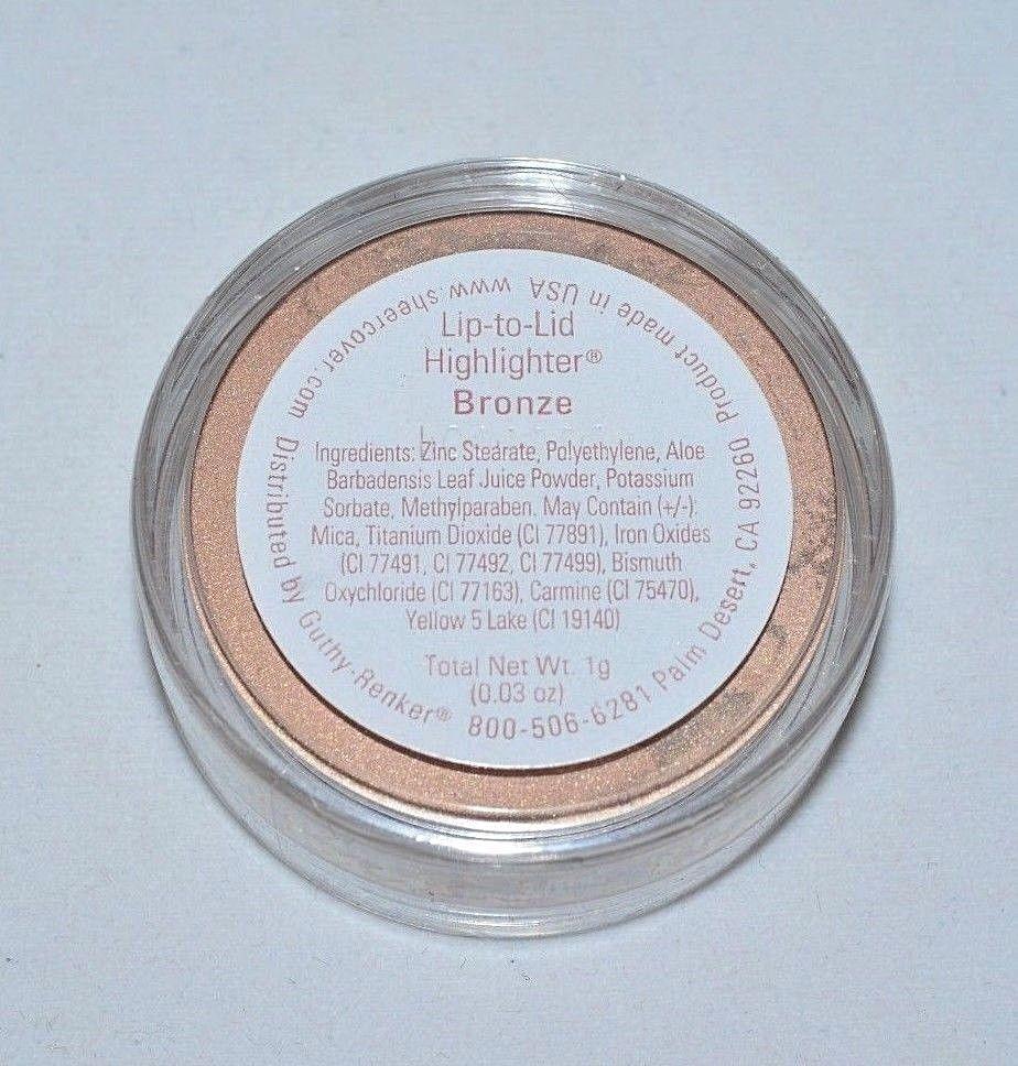 SHEER COVER Lip to Lid Highlighter Bronze 1 gram Bronzer