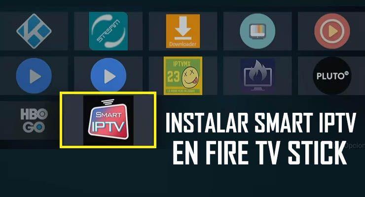 Cómo Instalar La Aplicación Smart Iptv En El Fire Tv Stick De Amazon Rápido Y Fácil Configurar Y Conectar Listas M3u Ip Telefonos Celulares Android Apps