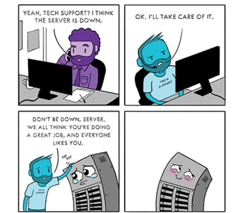 IT in a nutshell lol funny rofl memes lmao hilarious