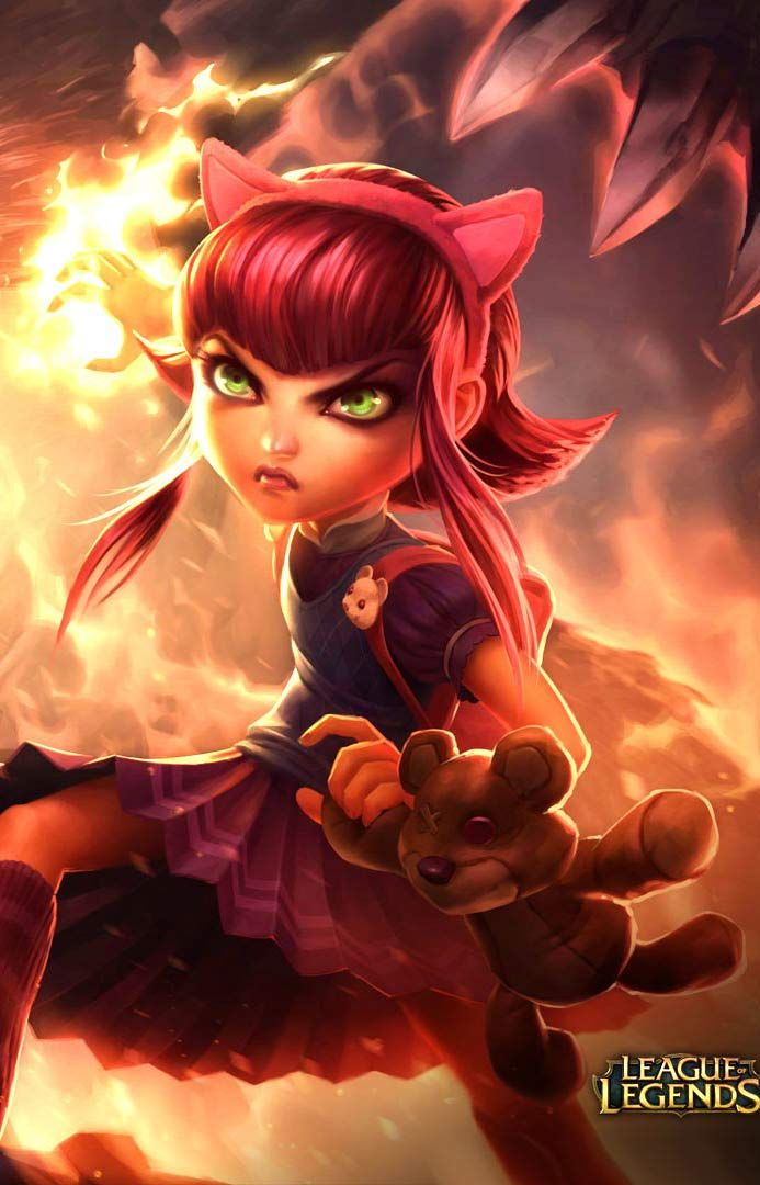 Games Wallpapers League Of Legends Annie Hd Wallpapers Http Www Fabuloussavers Com L Annie League Of Legends League Of Legends Characters League Of Legends