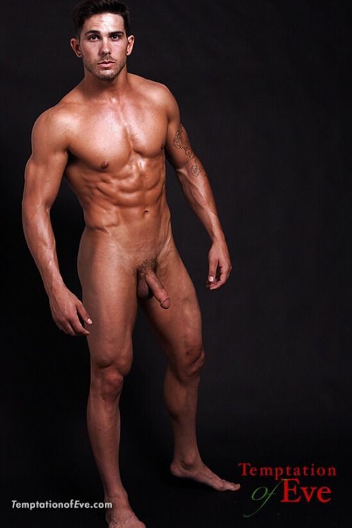 Naked male fitness trainers assured, that