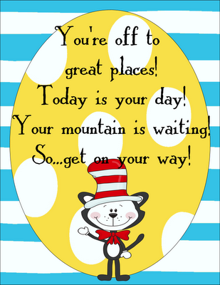 graphic about Free Printable Dr Seuss Quotes identify Pin upon Im Your TeacherSo Analyze Possibly.