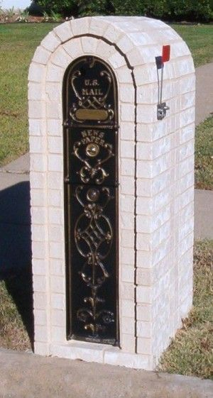 Locking Mailbox Insert For Columns : Secure and lockable brick mailbox options doctor