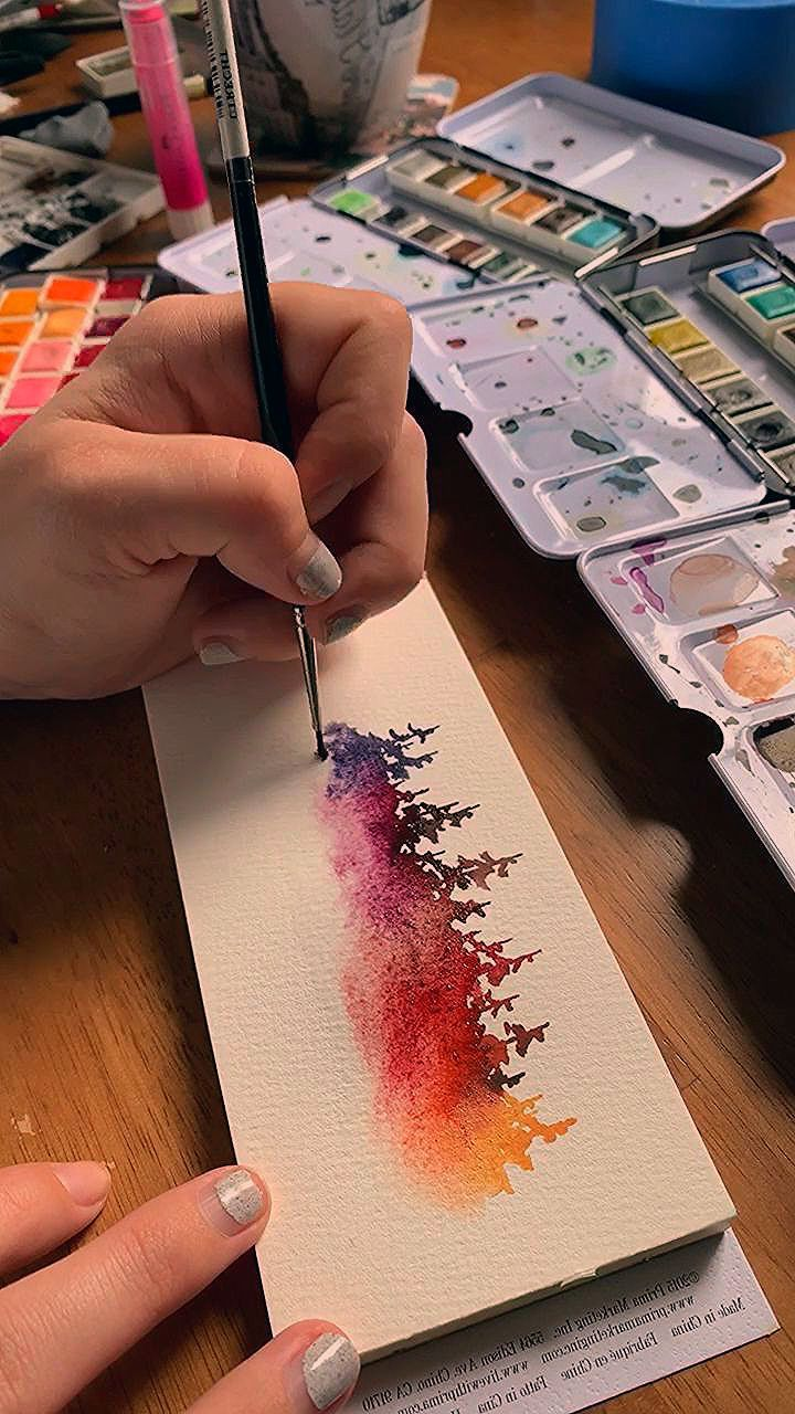 What Better Way To Live Life In Full Color Than By Painting A