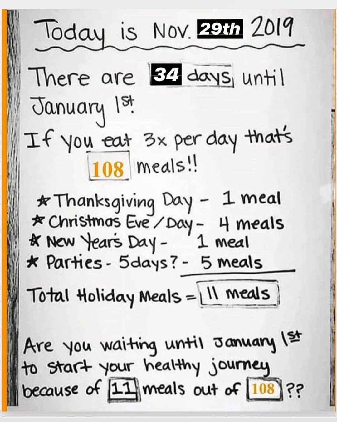 #fitnessmotivation #cleaneating #resolution #eatclean #fitness #fitfam #bhfyp #start #years #until #...