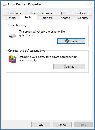 windows disk repair tools
