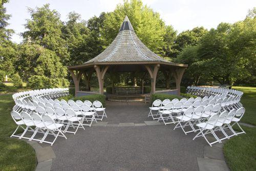 Ceremony at the Lehmann Rose Garden at the Missouri Botanical Garden