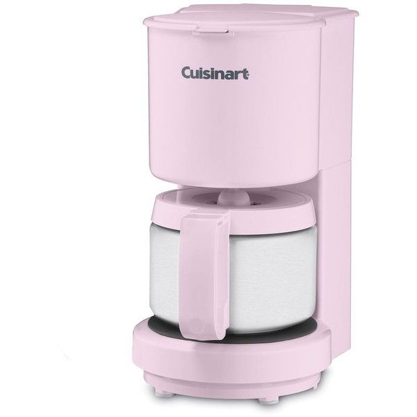 Cuisinart 4 Cup Stainless Steel Carafe Coffee Maker Pink 56 Cad