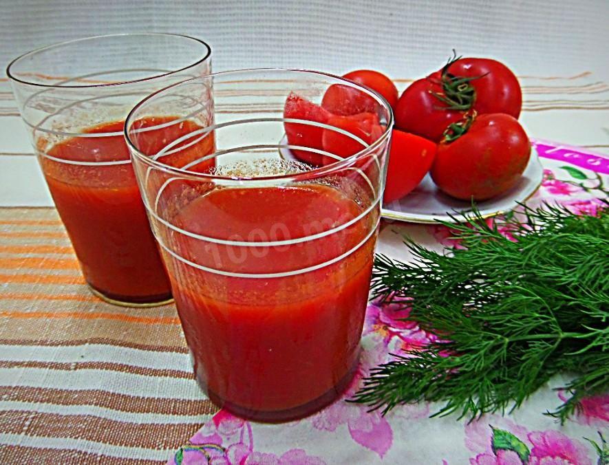 Как приготовить томатный сок из помидор через соковыжималку