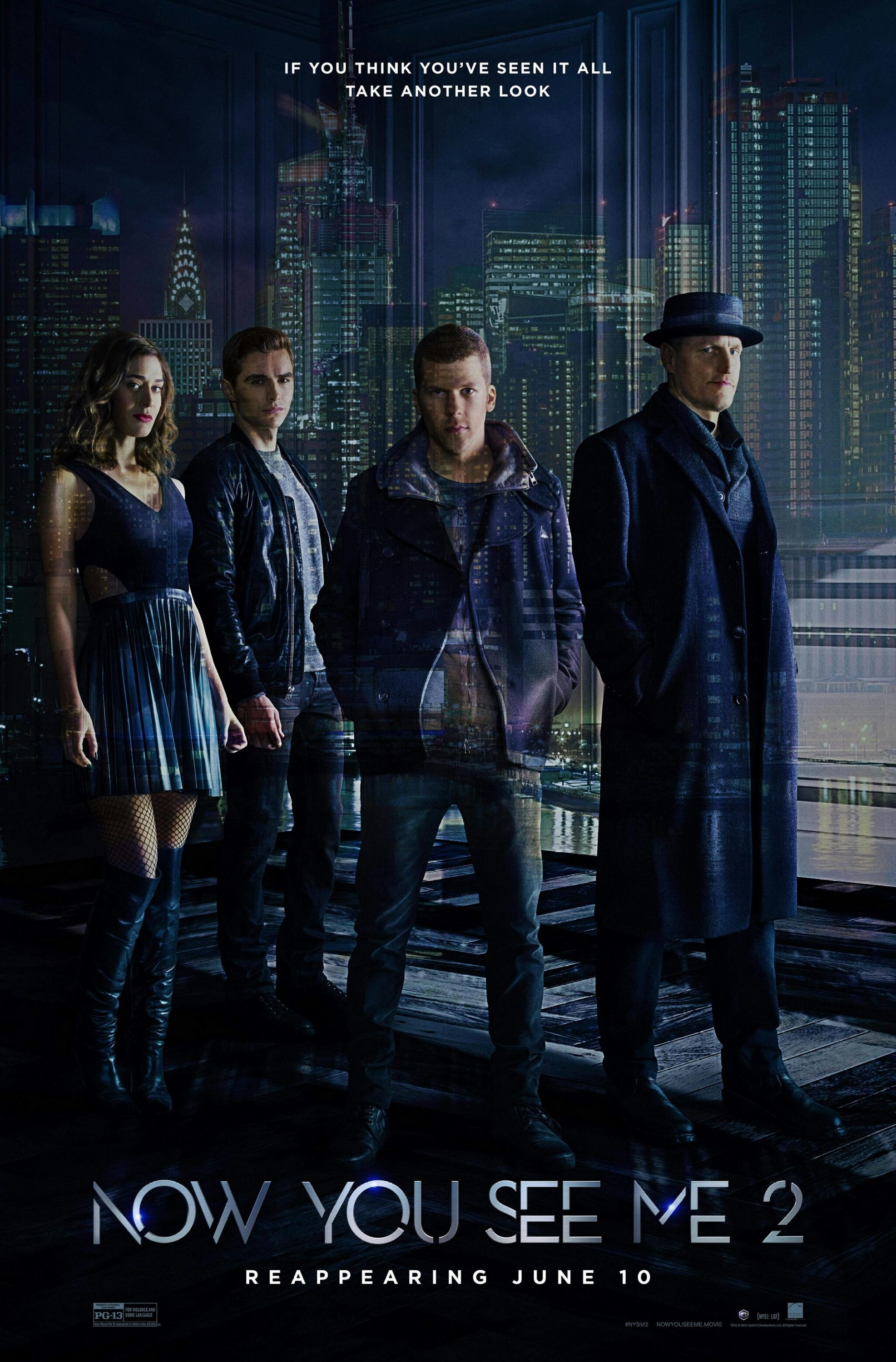 Now You See Me 2 Movie Bucket List Streaming Movies Movies