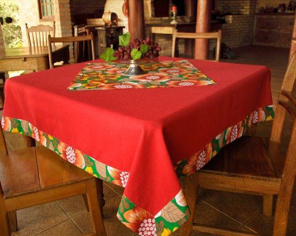 Toalha de mesa artesanal