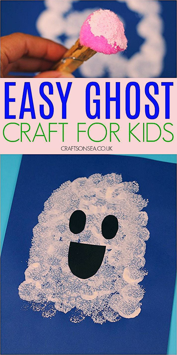 Photo of Easy Ghost Craft for Kids