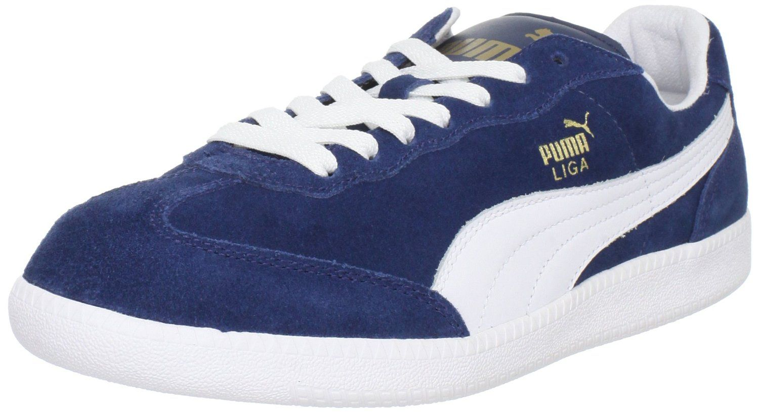 Unisex Shoes PUMA Liga Suede Classic Darm Denim/White