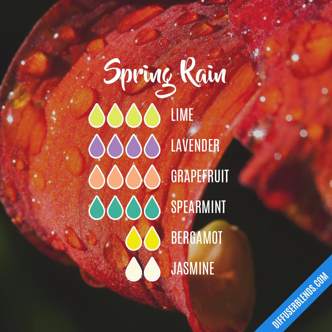 Blend Recipe: 4 Drops Lime, 4 Drops Lavender, 4 Drops