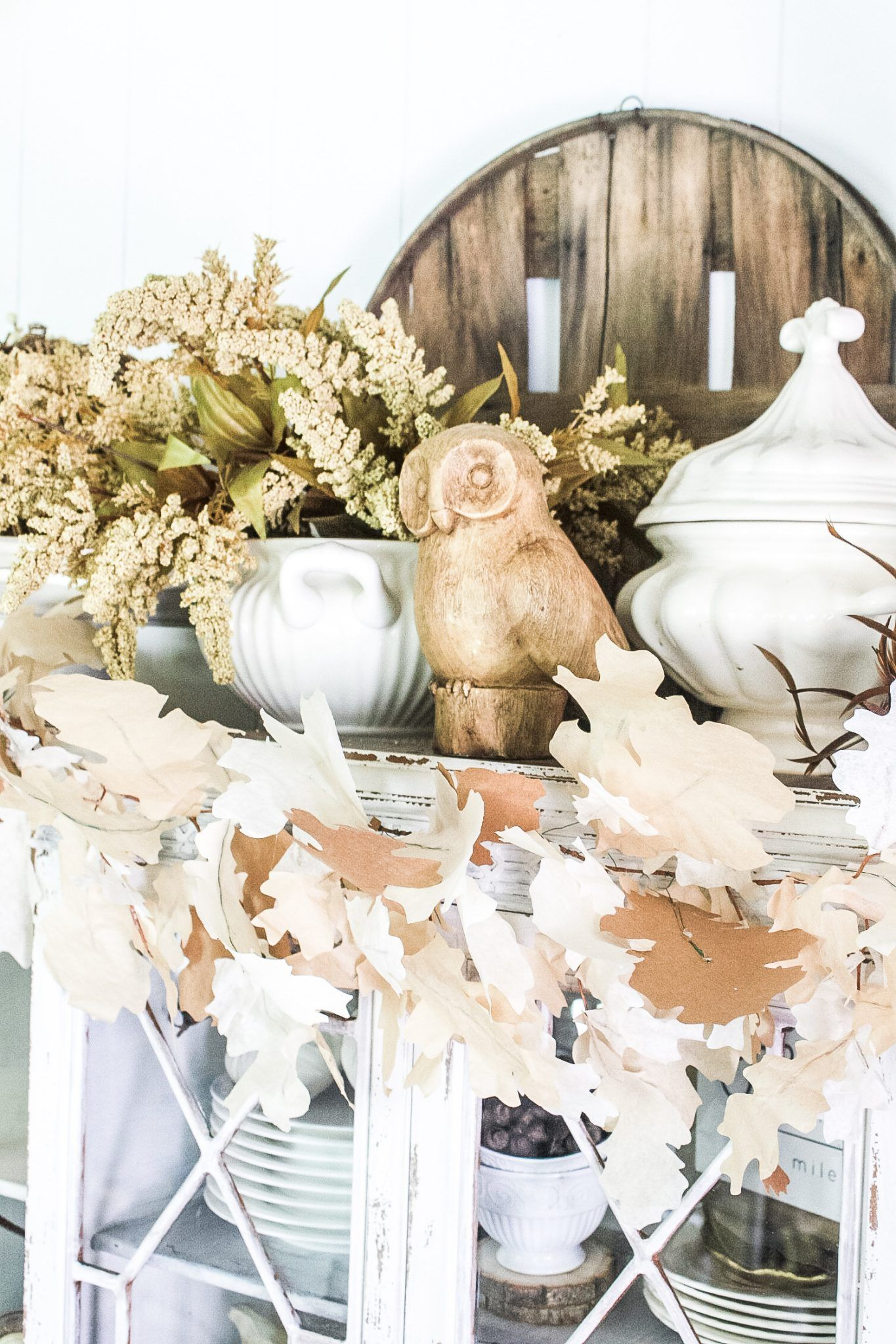 Photo of How to Decorate a Hutch for Fall – One Thousand Oaks