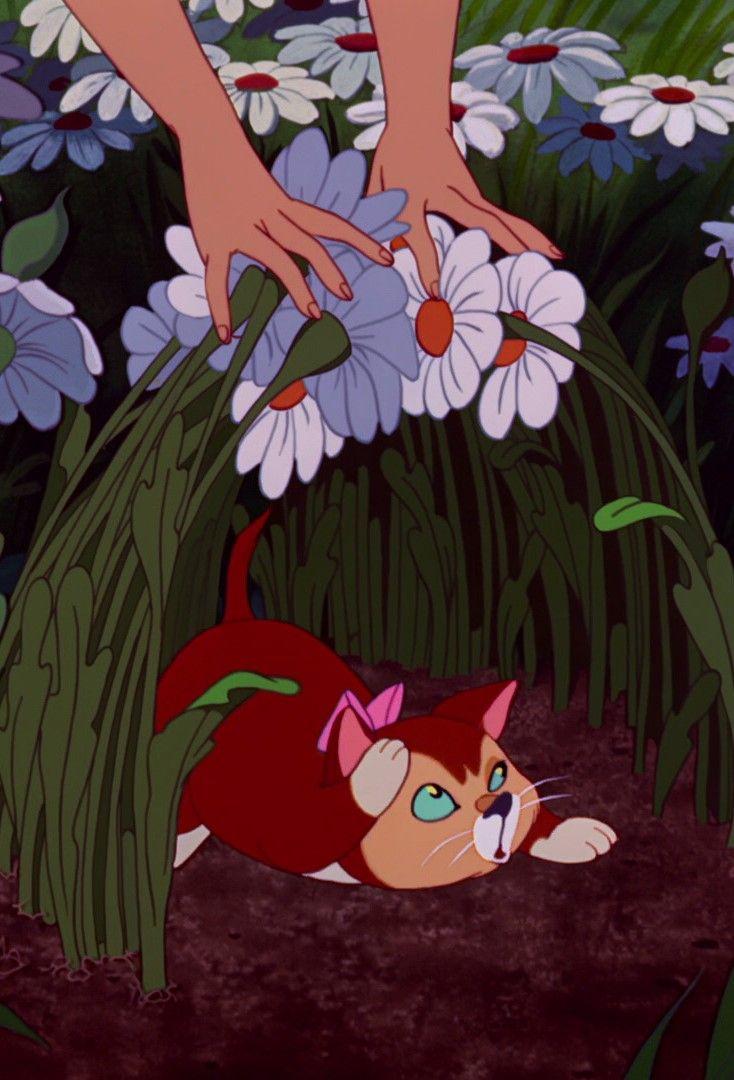 Alicia En El País De Las Maravillas Dinah Disney Alice Alice In Wonderland Aesthetic Disney Art