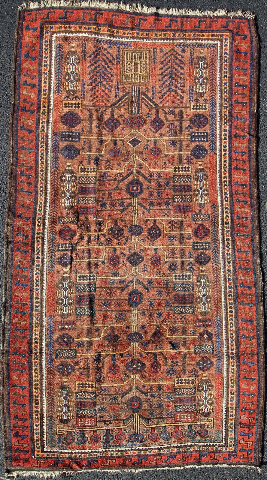 Antique Baluch Prayer Rug In Antiques Rugs Carpets Small 3x5 And Smaller