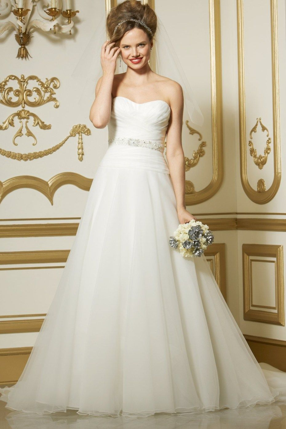 Aline wedding dress  Why Choose A Line Wedding Dresses  Weddings  Pinterest  Wedding