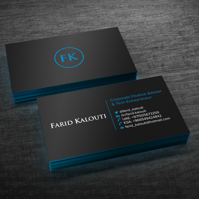 Hire freelance Design a sleek and professional personal business ...