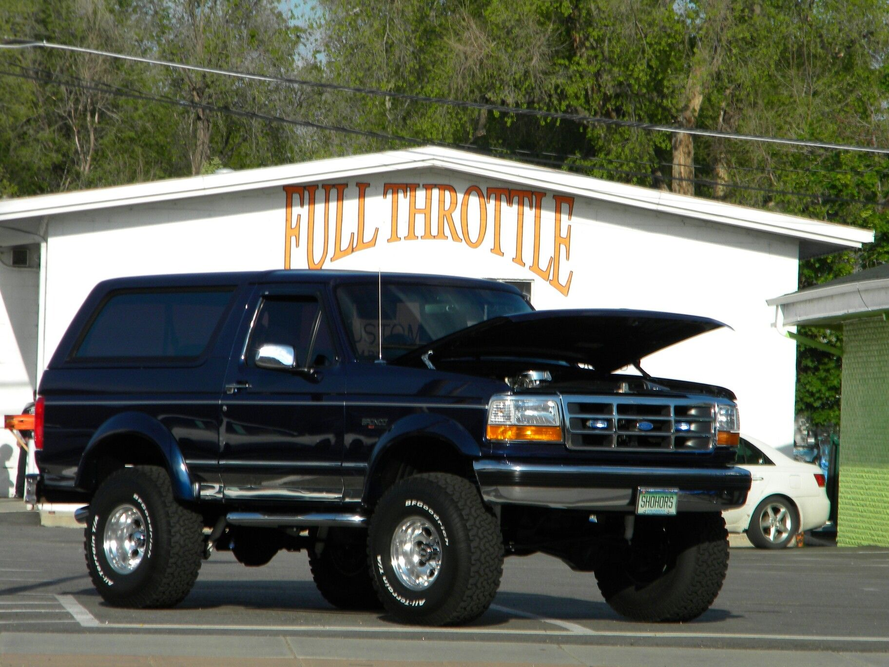 1995 Blue Ford Bronco Pinterest 1980 Broncos Lifted