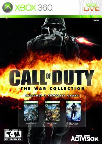 Call Of Duty The War Collection Xbox 360 Find Out More About The Great Product At The Image Link Note It Is Af Call Of Duty Xbox 360 Video Game Collection
