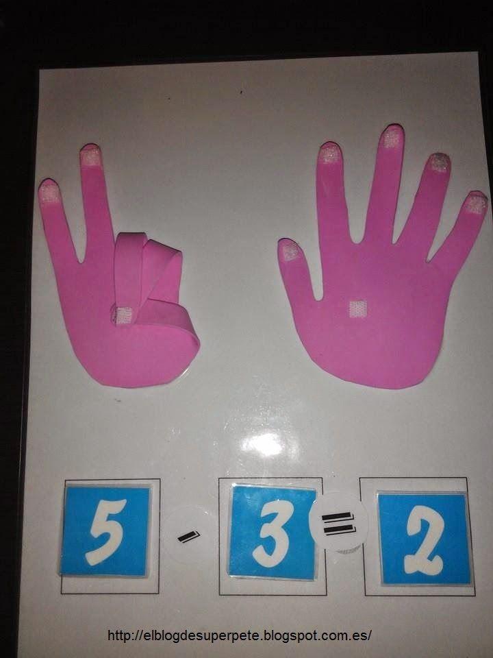 4d3ae22b5a2 Tutorial para construir las manos de goma eva + fichas y actividades ...