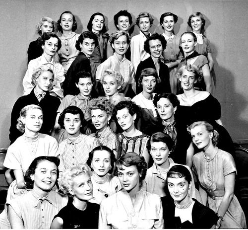 Beautiful Ford Modeling Agency, 1948