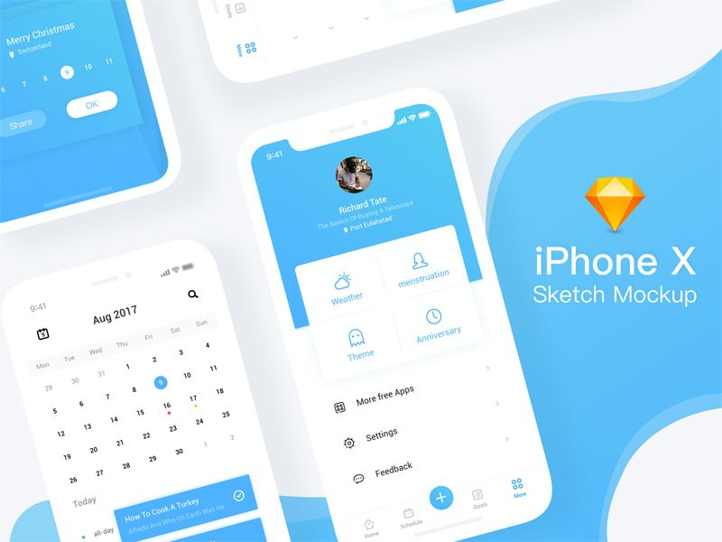 Iphone X Sketch Mockup Iphone Mockup Free Mockup Free Iphone