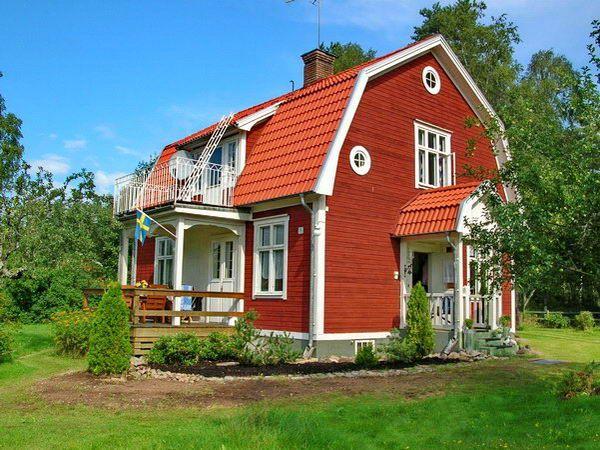 Das Marlies Hus Eine Echte Schwedenvilla I Just Love A Pretty Red House Schwedenhaus Haus Ferienhaus