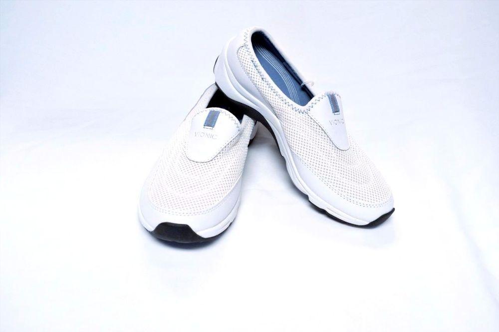 Vionic By Orthoheel Womens Heritage Shoes Orthoheel Technology 9.5M/40.5 White  #VionicByOrthoheel #ComfortWalkingSportClogs