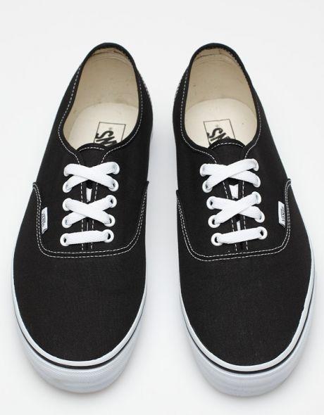Vans, Black vans, Sneakers