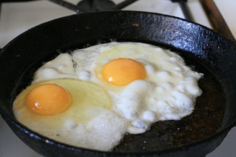 Можно ли жарить яйца на диете