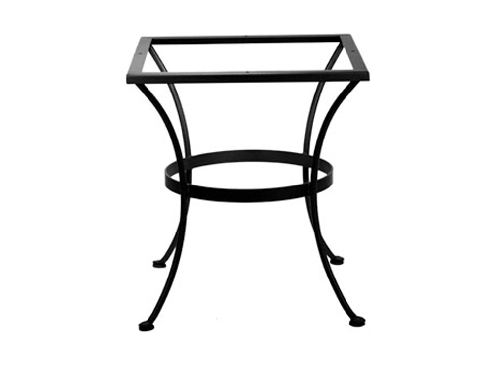 OW Lee Wrought Iron Dining Round Table Base | Yosemite ...