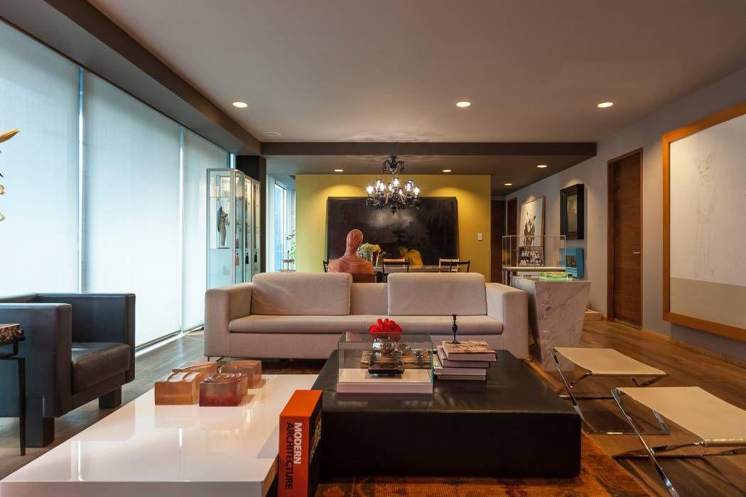 ausgefallene wohnzimmer bilder von maad arquitectura y diseño, Hause deko