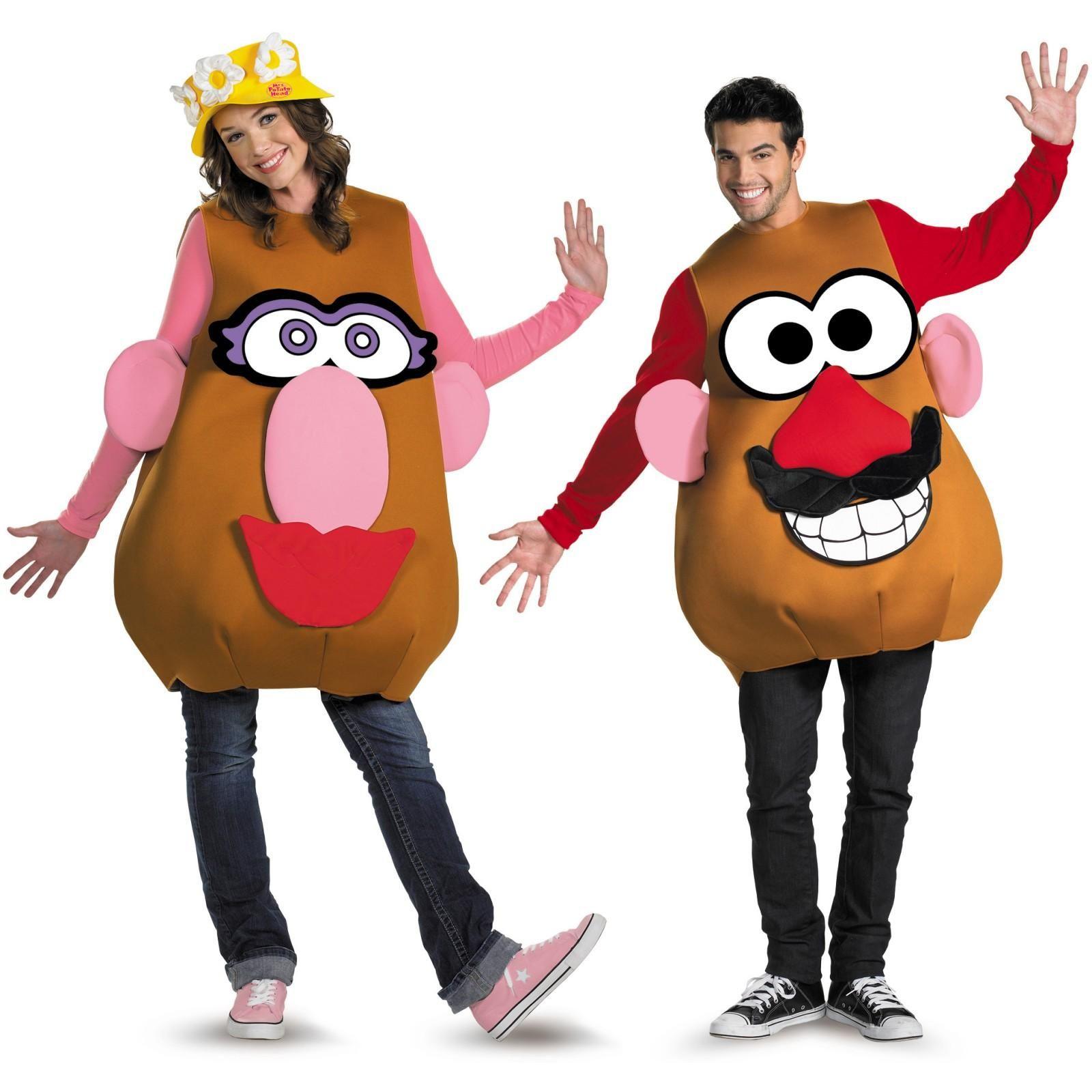 Mr. or Mrs. Potato Head Deluxe Adult Costume  sc 1 st  Pinterest & Adult Mister Or Ms Potato Head Costume | Pinterest | Potato heads ...